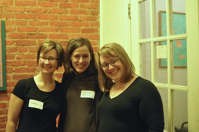 Audra, Amanda and Marisa