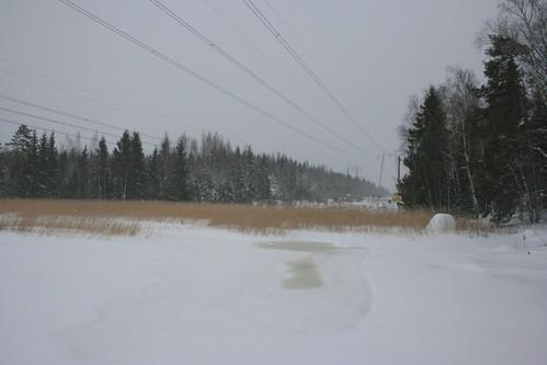 snow finland kotka