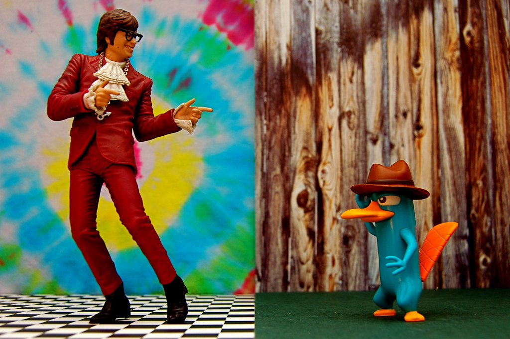 Austin Powers vs. Agent P (347/365)