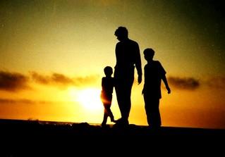Family Love Silhouette