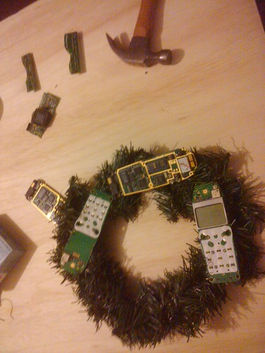 Techmas Wreath
