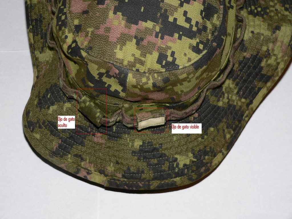 Boonie Hat CADPAT TW Issued Detalle Mod.  fa70457ddd8