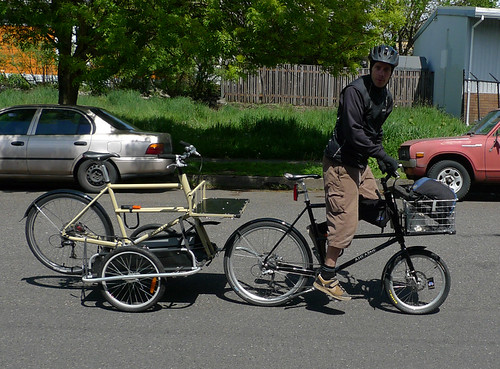 Carried on a Cycle Truck