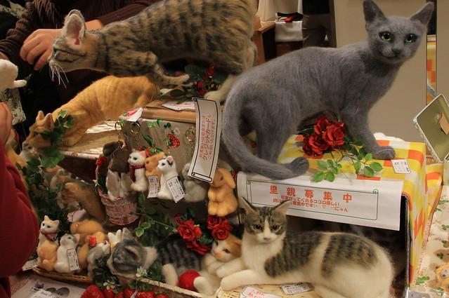猫人形の部屋 里親募集