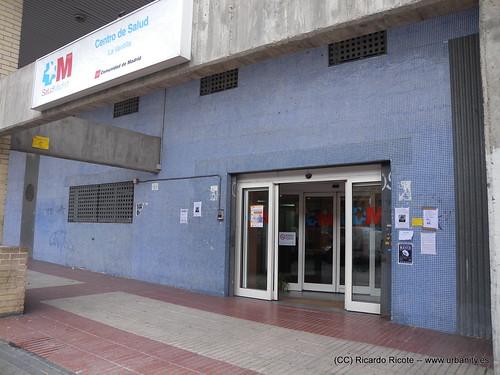 Un centro de salud en Madrid
