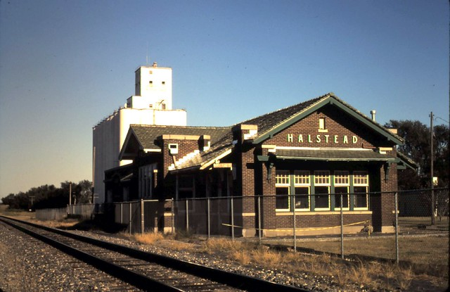 Santa Fe Depot Halstead Ks Circa 2000 Flickr Photo
