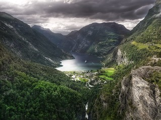 The Geiranger fjord HDR