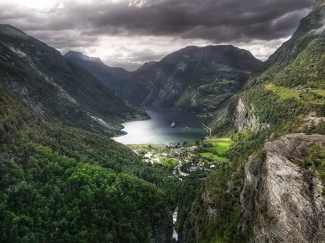 The Geirangerfjord HDR