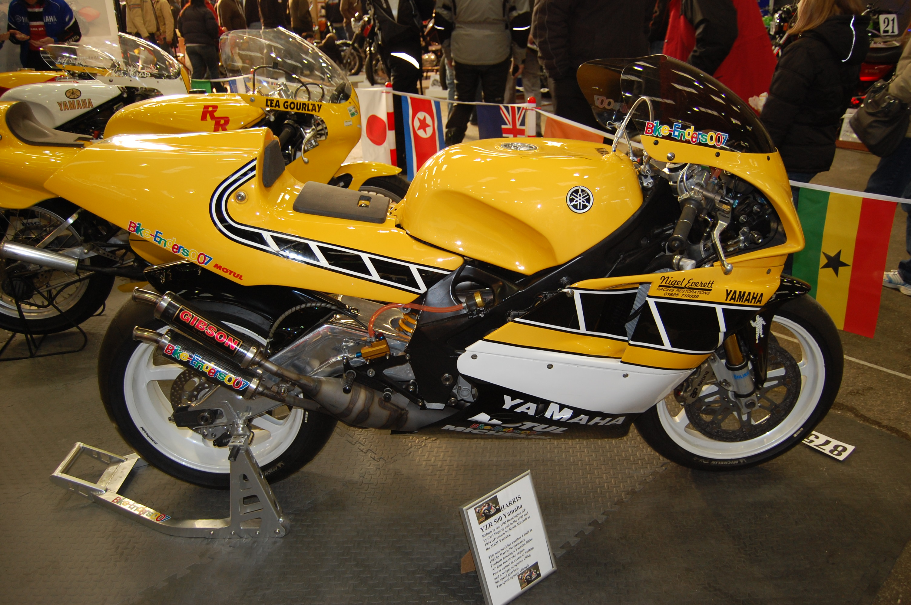 The Yzr500 The Yamaha Motor Corporation S Entry For 500cc
