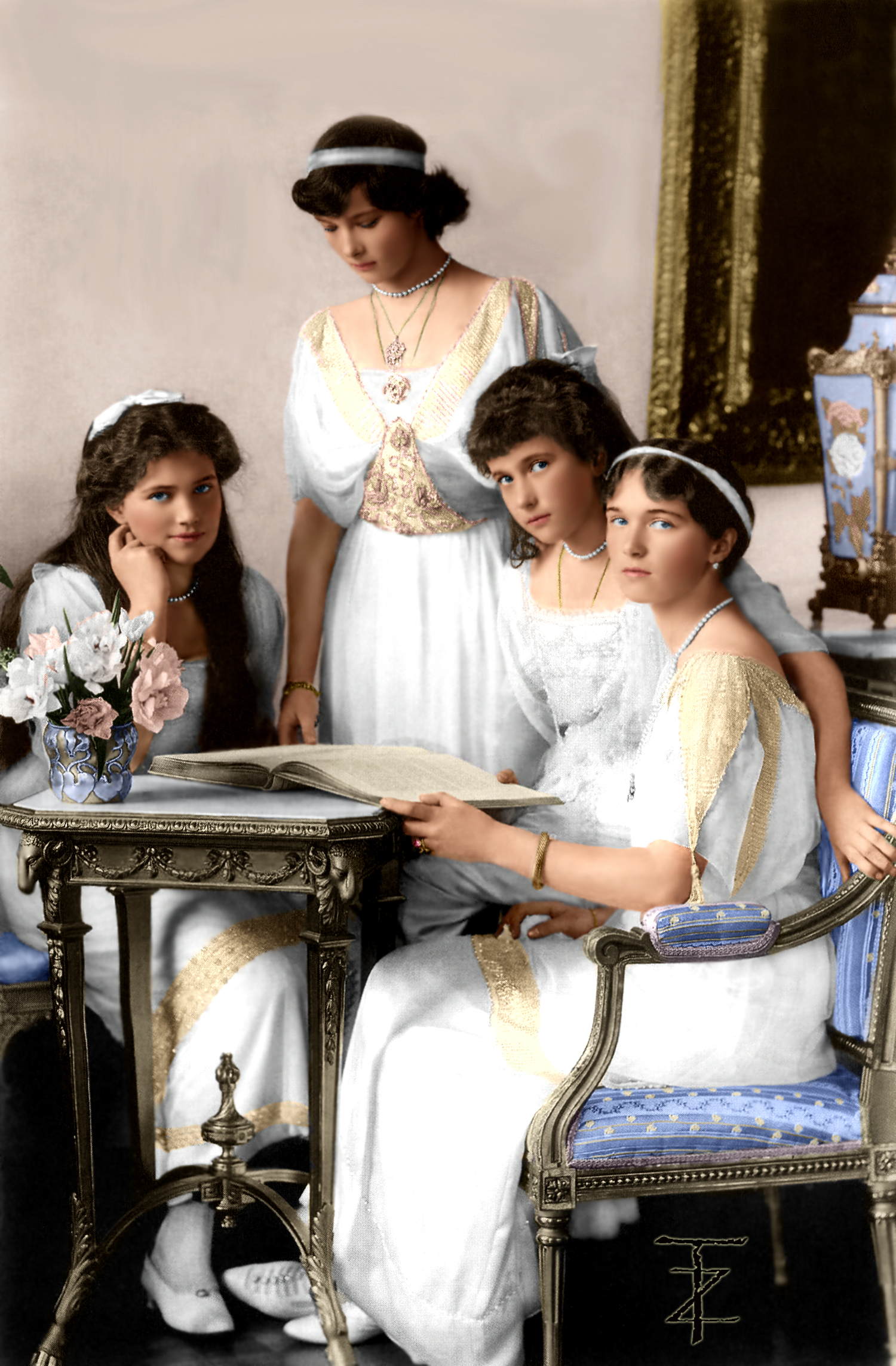 OTMA : The daughters of Tsar Nicholas II