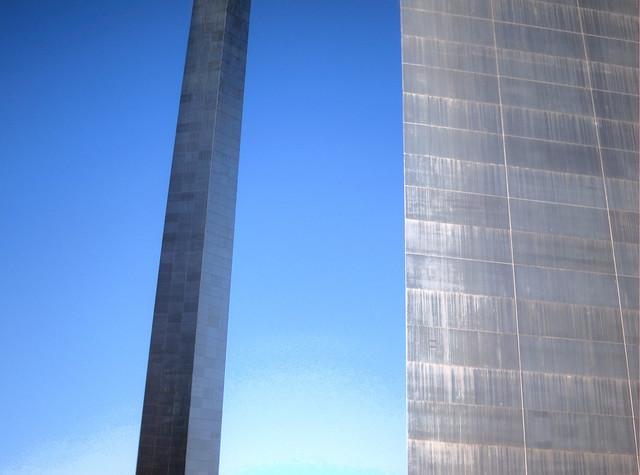 Arco Gateway, San Luis, Misuri. Estados Unidos. Monumento a la Expansión Nacional de Jefferson