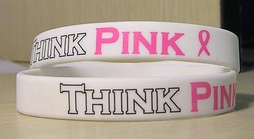 Think Pink Breast Cancer Awareness Bracelet