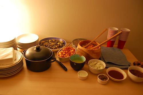 Indian Veg. Dinner