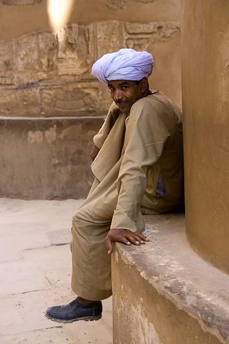 Así vigilan los templos en Egipto
