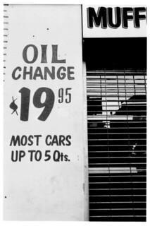 OIL change MUFF