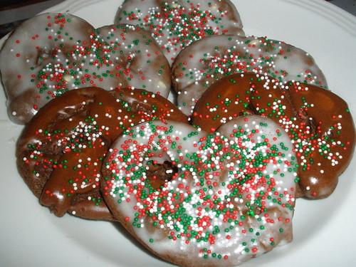 Cocoa Pretzel Cookies