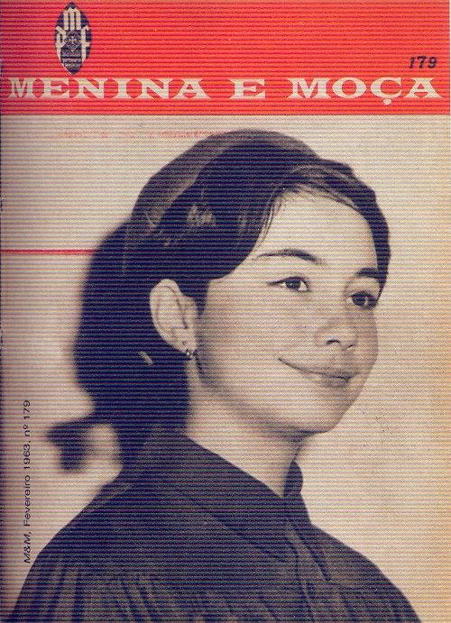 Menina e Moça, Nº 179, Fevereiro 1963 - capa