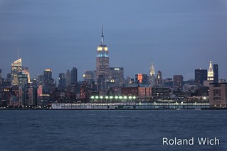 New York - Midtown at dusk