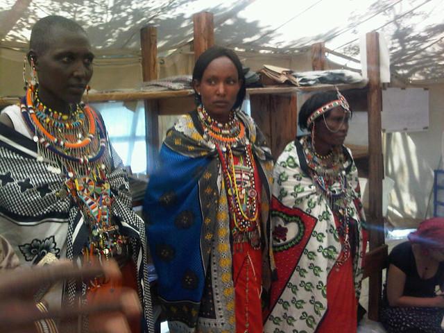costumbres extrañas, tribu masai