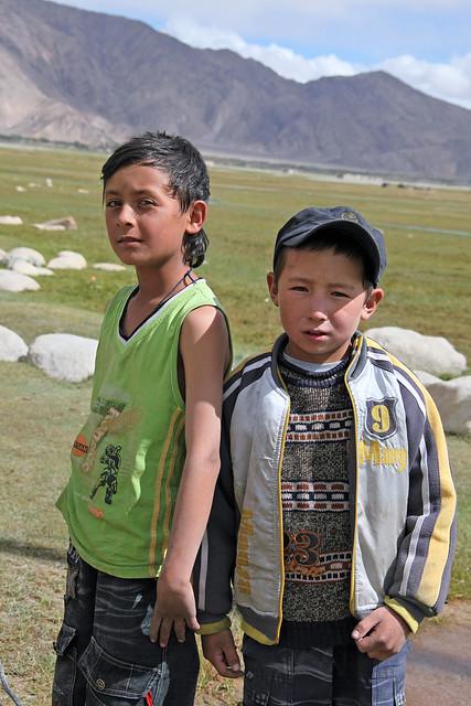タシュクルガンの少年たち