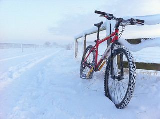 Drem Airfield Snow Ride