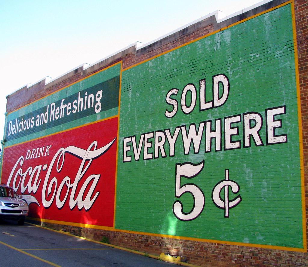 Coca-Cola - Sold Everywhere 5¢