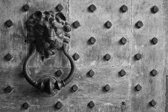 Beware Of Dog (Leeds Castle Door Detail), Kent