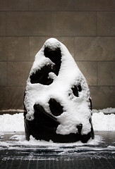 Embraced in snow