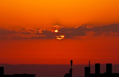 morning orange beauty clouds sunrise canon landscape israel is palestine jerusalem east holy land usm middle 70200 f4l 550d t2i