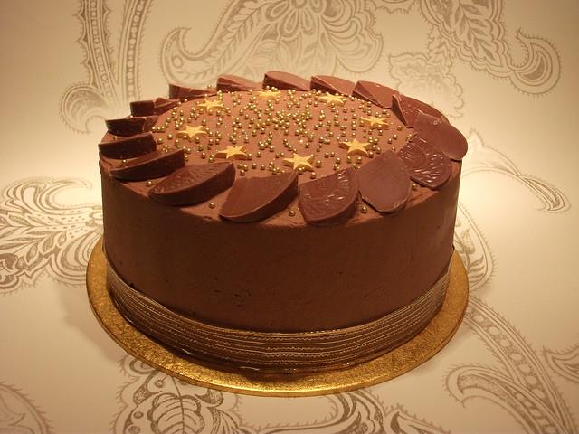 Chocolate Orange ganache cake | Flickr - Photo Sharing!