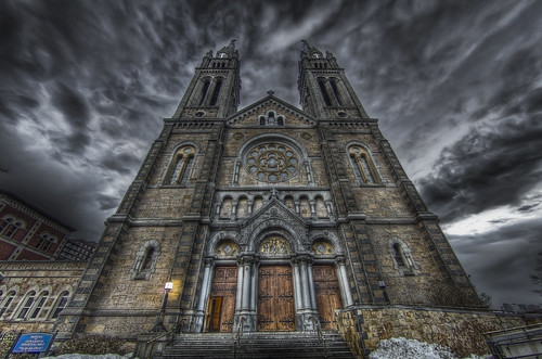 storm church boston pentax basilica massachusetts hill newengland fisheye mission hdr k5 perpetualhelp missionchurch tonemapped flickraward