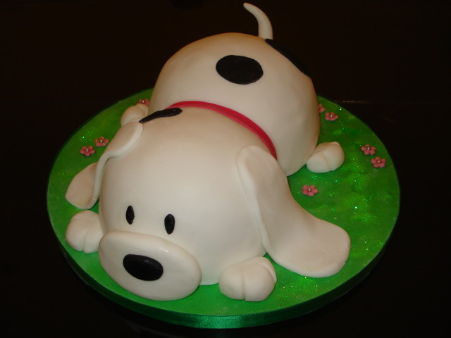 Pictures of Dog Cakes http://www.flickr.com/photos/helenashouseofcakes/5336430680/