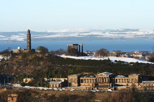 View of Firth of Forth from Salisbury Crags