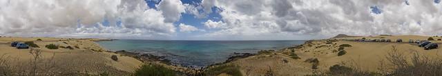 Parque Natural de la Dunas de Corralejo e Isla de de Lobos, La Oliva. Isla de Fuerteventura