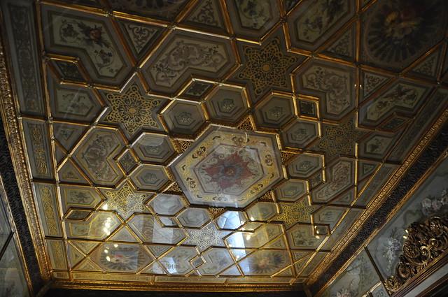 Florien - dettagli del soffitto