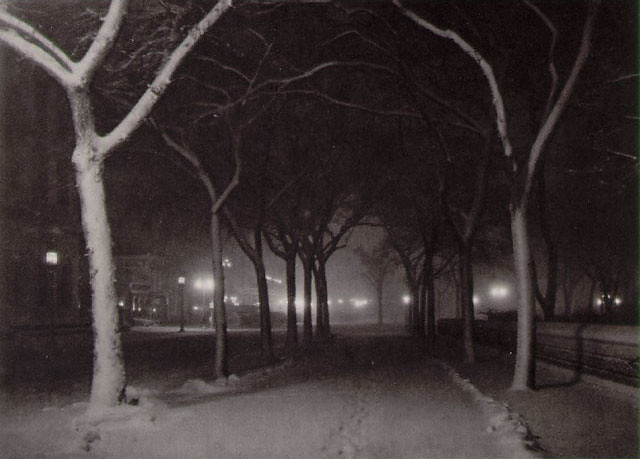 Original: Stieglitz, Icy Night