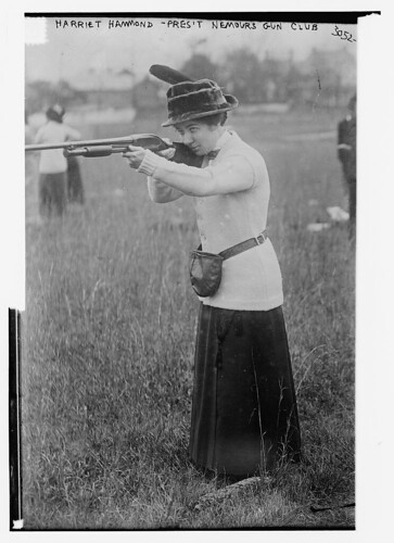Harriet Hammond - Pres. Nemours Gun Club  (LOC)