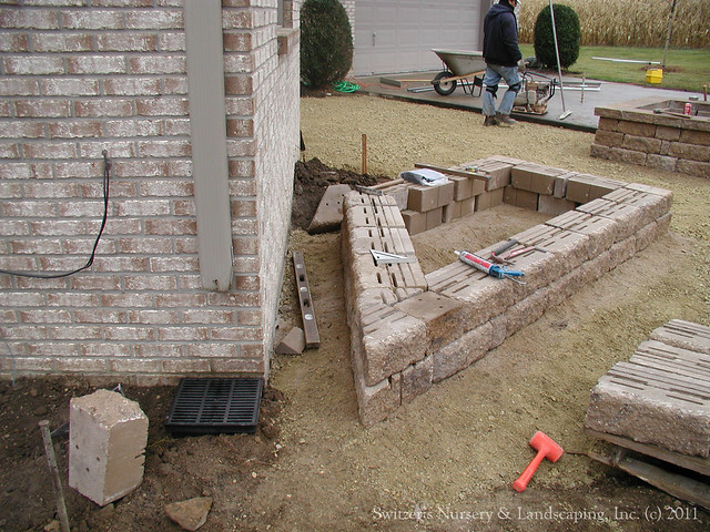 Patio Pavers Base : Paver patio front entry chrushed limestone base flickr photo sharing