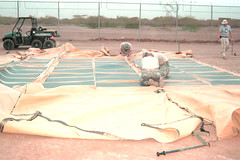 RDECOM solar panels, Djibouti, May 2011