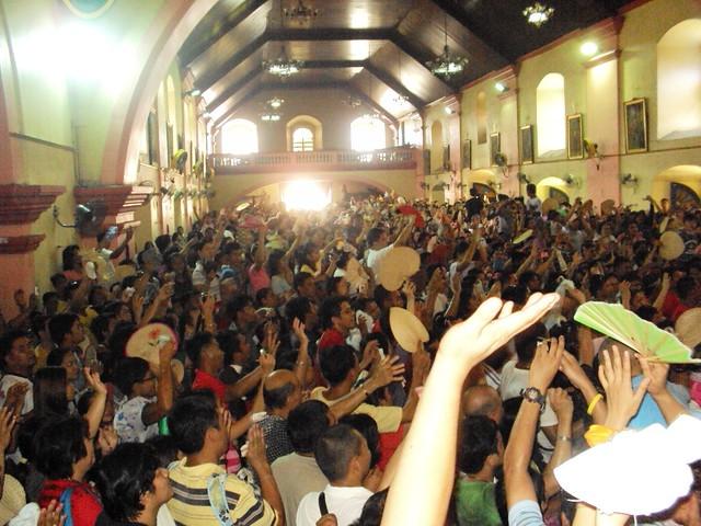 Sayaw sa Loob ng Simbahan ng Obando
