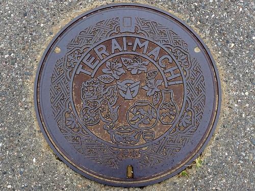 Terai Ishikawa, manhole cover (石川県寺井町のマンホール)