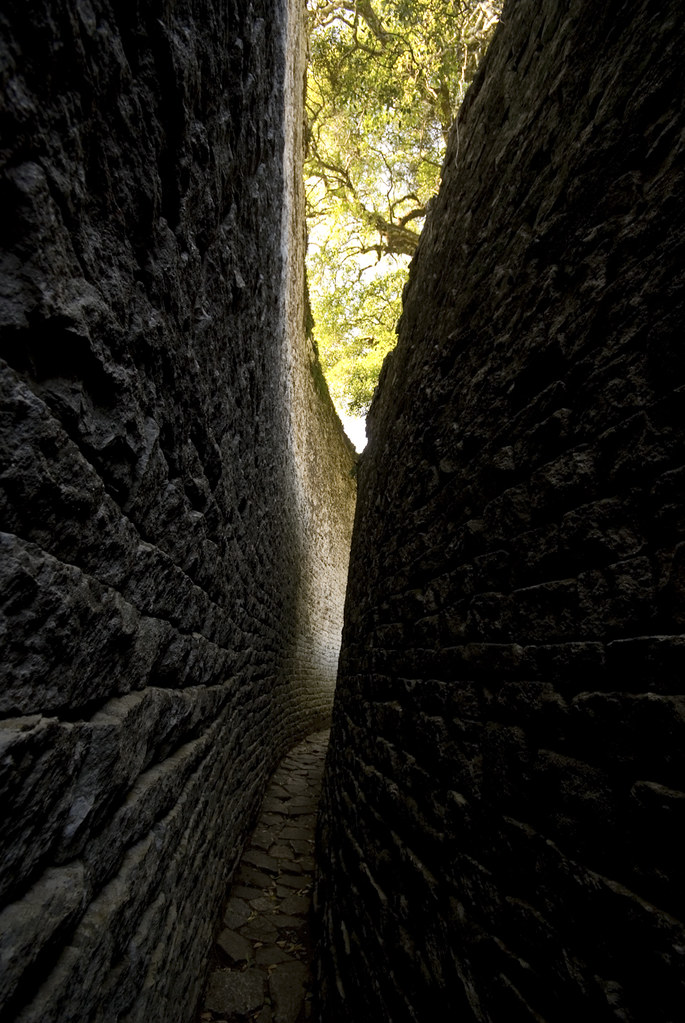 Corridors of the African castle