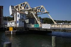Drawbridge on the Mystic River - Connecticutt
