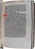 Manuscript rubrication in Gerson, Johannes: De auferibilitate Papae