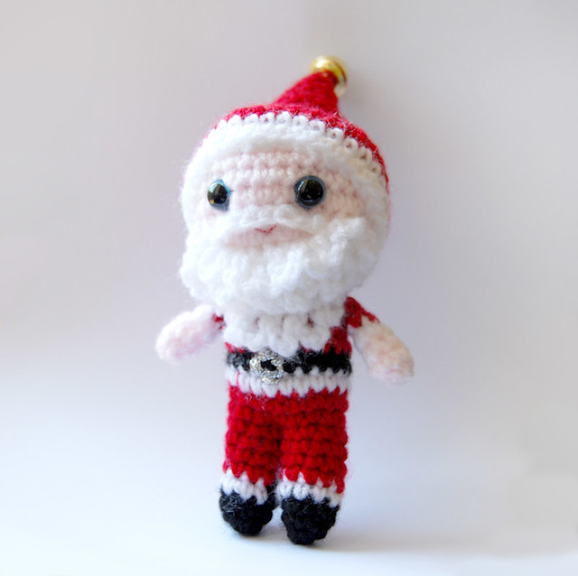 Crochet Amigurumi Blogs : Crochet Amigurumi Santa Flickr - Photo Sharing!