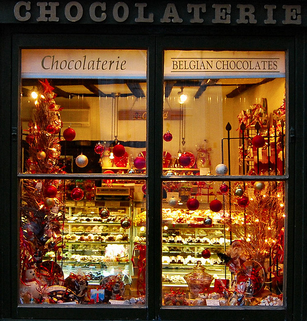 Christmas Toy Store : Chocolaterie shop window lincoln flickr photo sharing