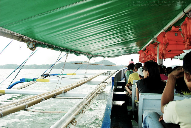 Pump boat to Guimaras