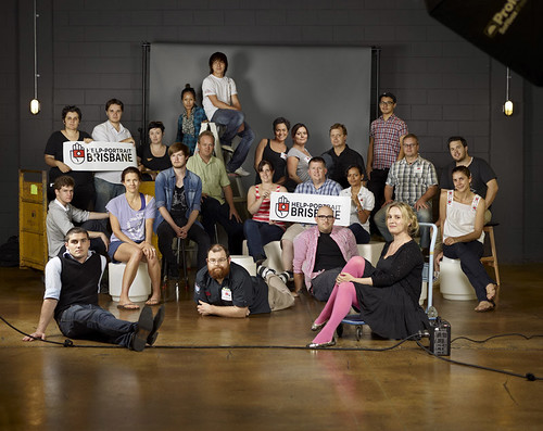 The Brisbane Help Portrait Crew by Toby Scott
