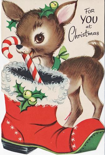 Santa's Reindeer by Calsidyrose