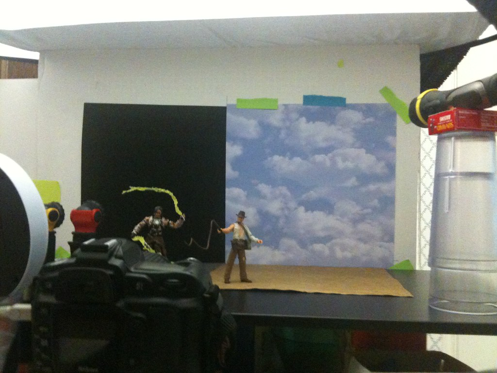 Ivan Vanko vs. Indiana Jones Setup